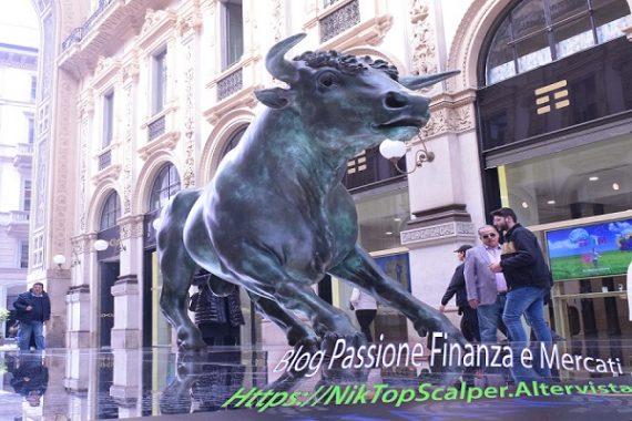 IL Toro di Wall-Street arriva a Milano..