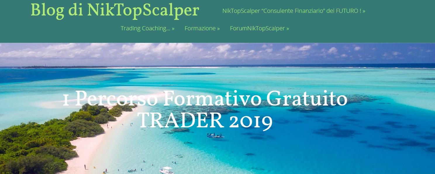 Percorso Formativo Gratuito TRADER NikTopScalper